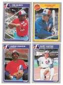 1985 FLEER - MONTREAL EXPOS Team Set