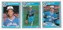 1985 FLEER - TORONTO BLUE JAYS Team Set