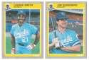 1985 Fleer Update - KANSAS CITY ROYALS Team Set