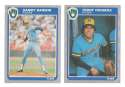 1985 Fleer Update - MILWAUKEE BREWERS Team Set