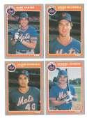 1985 Fleer Update - NEW YORK METS Team Set