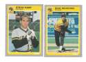 1985 Fleer Update - PITTSBURGH PIRATES Team Set