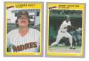 1985 Fleer Update - SAN DIEGO PADRES Team Set