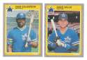 1985 Fleer Update - SEATTLE MARINERS Team Set