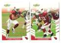 2007 Score Football Team Set - ARIZONA CARDINALS