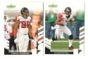 2007 Score Football Team Set - ATLANTA FALCONS
