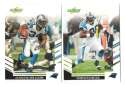2007 Score Football Team Set - CAROLINA PANTHERS