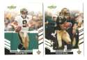 2007 Score Football Team Set - NEW ORLEANS SAINTS