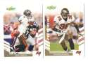 2007 Score Football Team Set - TAMPA BAY BUCCANEERS