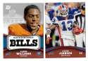 2011 Topps Rising Rookies Football Team Set - BUFFALO BILLS