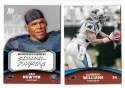 2011 Topps Rising Rookies Football Team Set - CAROLINA PANTHERS