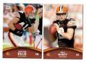 2011 Topps Rising Rookies Football Team Set - CLEVELAND BROWNS