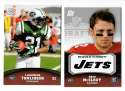 2011 Topps Rising Rookies Football Team Set - NEW YORK JETS