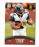 2011 Topps Rising Rookies Football Team Set - SEATTLE SEAHAWKS