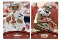 2011 Topps Rising Rookies Football Team Set - TAMPA BAY BUCCANEERS