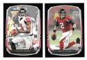 2013 Bowman Black Football Team Set - ATLANTA FALCONS