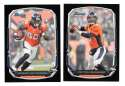 2013 Bowman Black Football Team Set - DENVER BRONCOS