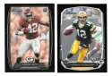 2013 Bowman Black Football Team Set - GREEN BAY PACKERS