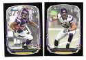 2013 Bowman Black Football Team Set - MINNESOTA VIKINGS