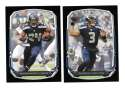 2013 Bowman Black Football Team Set - SEATTLE SEAHAWKS
