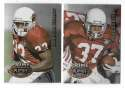 1995 Playoff Prime Football Team Set - ARIZONA CARDINALS