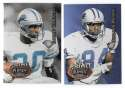 1995 Playoff Prime Football Team Set - DETROIT LIONS