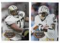 1995 Playoff Prime Football Team Set - NEW ORLEANS SAINTS