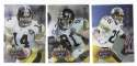 1995 Playoff Prime Football Team Set - PITTSBURGH STEELERS
