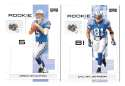 2007 Playoff NFL Football Team Set - DETROIT LIONS