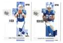 2007 Playoff NFL Football Team Set - INDIANAPOLIS COLTS