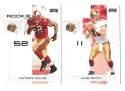2007 Playoff NFL Football Team Set - SAN FRANCISCO 49ERS