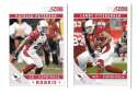 2011 Score Football Team Set made from Factory set - ARIZONA CARDINALS