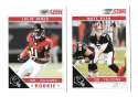 2011 Score Football Team Set made from Factory set - ATLANTA FALCONS
