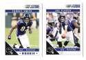 2011 Score Football Team Set made from Factory set - BALTIMORE RAVENS