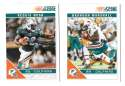 2011 Score Football Team Set made from Factory set - MIAMI DOLPHINS