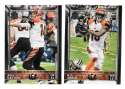 2015 Topps NFL 60th Anniversary Logo Football Team Set - CINCINNATI BENGALS