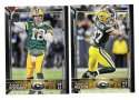 2015 Topps NFL 60th Anniversary Logo Football Team Set - GREEN BAY PACKERS