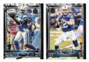 2015 Topps NFL 60th Anniversary Logo Football Team Set - INDIANAPOLIS COLTS