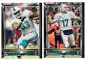 2015 Topps NFL 60th Anniversary Logo Football Team Set - MIAMI DOLPHINS