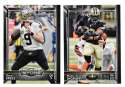 2015 Topps NFL 60th Anniversary Logo Football Team Set - NEW ORLEANS SAINTS