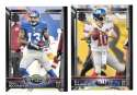 2015 Topps NFL 60th Anniversary Logo Football Team Set - NEW YORK GIANTS