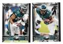 2015 Topps NFL 60th Anniversary Logo Football Team Set - PHILADELPHIA EAGLES