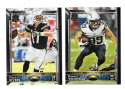 2015 Topps NFL 60th Anniversary Logo Football Team Set - SAN DIEGO CHARGERS