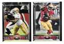 2015 Topps NFL 60th Anniversary Logo Football Team Set - SAN FRANCISCO 49ERS