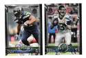 2015 Topps NFL 60th Anniversary Logo Football Team Set - SEATTLE SEAHAWKS