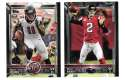 2015 Topps Super Bowl 50th Anniversary Football Team Set - ATLANTA FALCONS