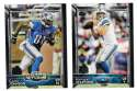 2015 Topps Super Bowl 50th Anniversary Football Team Set - DETROIT LIONS