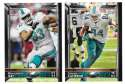 2015 Topps Super Bowl 50th Anniversary Football Team Set - MIAMI DOLPHINS