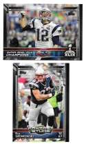 2015 Topps Super Bowl 50th Anniversary Football Team Set - NEW ENGLAND PATRIOTS