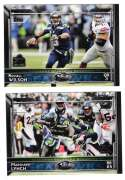 2015 Topps Super Bowl 50th Anniversary Football Team Set - SEATTLE SEAHAWKS